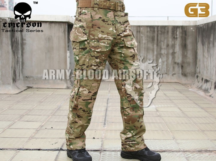 все цены на Emerson Gen 3 Combat Pants MC Three all-terrain camouflage Tactical Pants (MC ATFG AOR1) онлайн