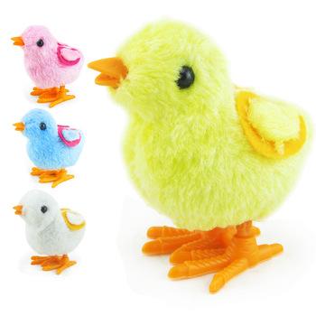 Kreskówka laska Wind Up mechaniczne zabawki piękne dzieci pluszowe Wind-up Walking zabawki dla dzieci zabawki Wind Up zabawki tanie i dobre opinie FILEXALLEN 3 lat Pull powrót Zwierząt Likwidacji