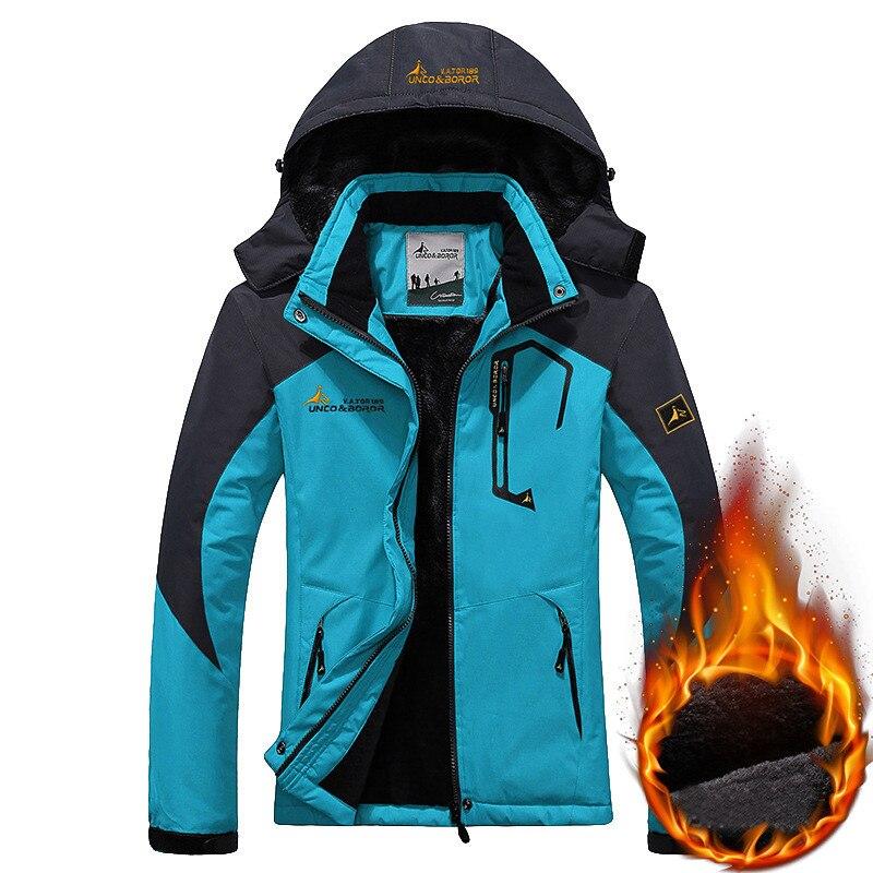 Women Ski Jacket Winter Windproof Waterproof Warm Fleece Snow Snowboard Jackets Outdoor Sports Female Mountain Hiking
