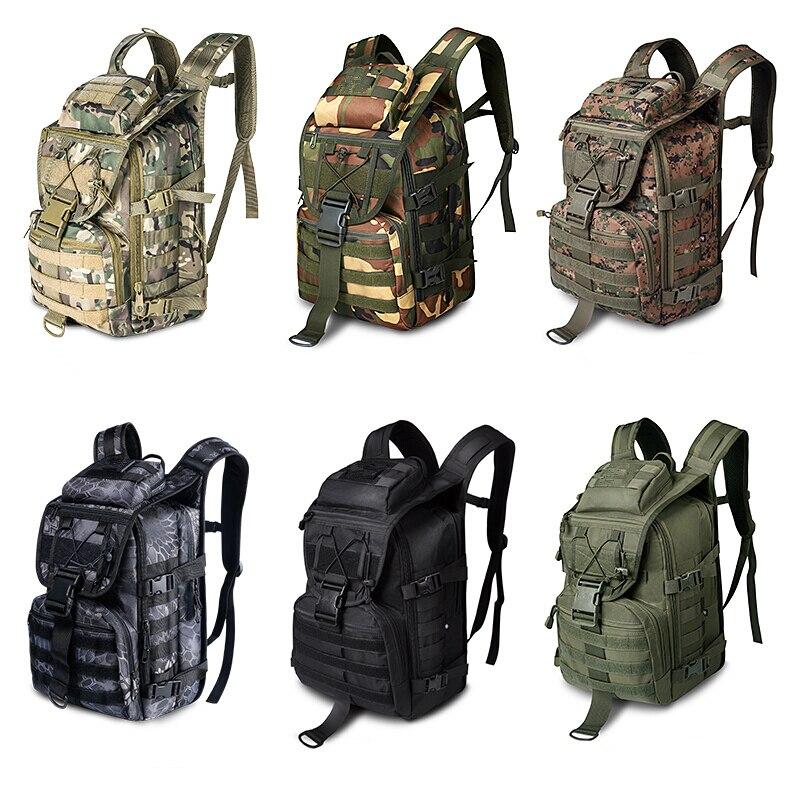 36L extérieur espadon sac à dos tactique Camouflage chasse alpinisme sac à dos Camouflage armée ventilateur sac - 2