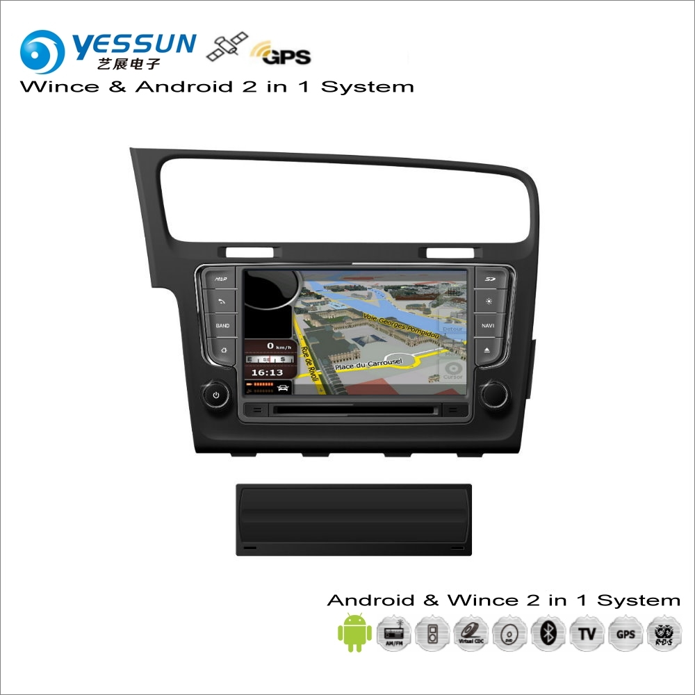 YESSUN For VW Golf MK7 / Wagon 2012~2016 Car Android Multimedia Radio CD DVD Player GPS Navi Map Navigation Audio Video Stereo yessun for mazda cx 5 2017 2018 android car navigation gps hd touch screen audio video radio stereo multimedia player no cd dvd