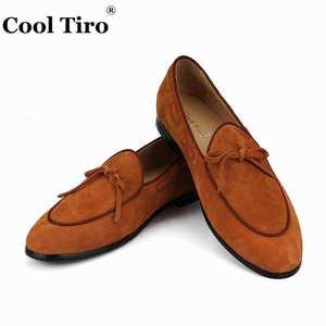 06fbbe4ba4b5 COOL TIRO Loafers Men s Dress Shoes Genuine Leather