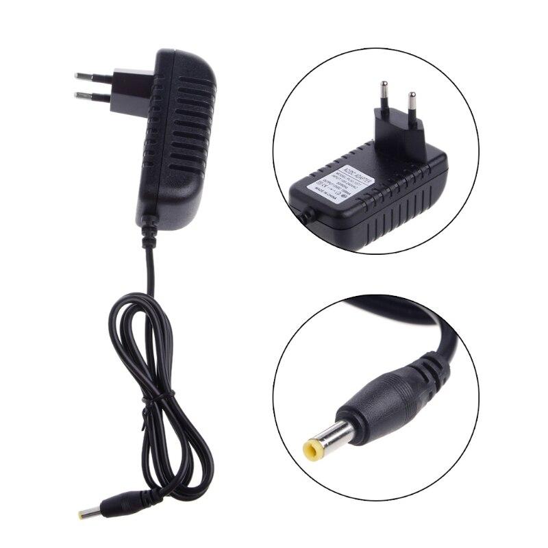 AC 100-240 V a DC 12 V a enchufe EU adaptador de fuente de alimentación de conmutación AC a DC convertidor de cargador Adaptador de adaptador de 3/4 pulgadas, cable de grifo, adaptador de tanque IBC, conector de reemplazo, válvula de conexión para conectores de hogar para jardín Irr