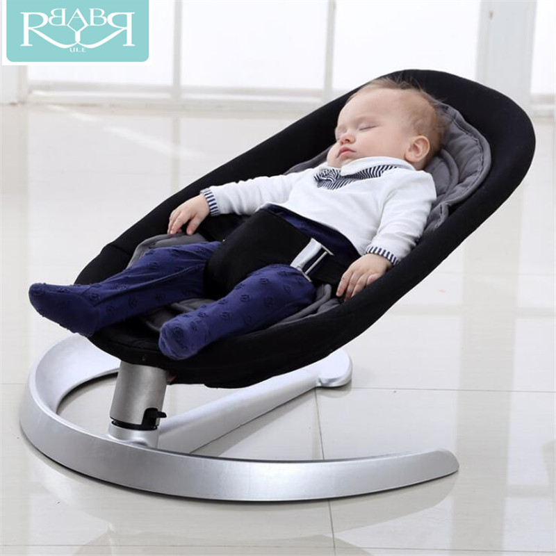 Babyruler Baby Swing Bouncer Rocking Chair For Baby Bebek Salincak Newborn Baby Sleeping Basket automatic cradle bebek salincak hot sale electric baby cradle automatic swing baby shaker baby cribs bear weight less than 25kg pink blue baby sleeping basket