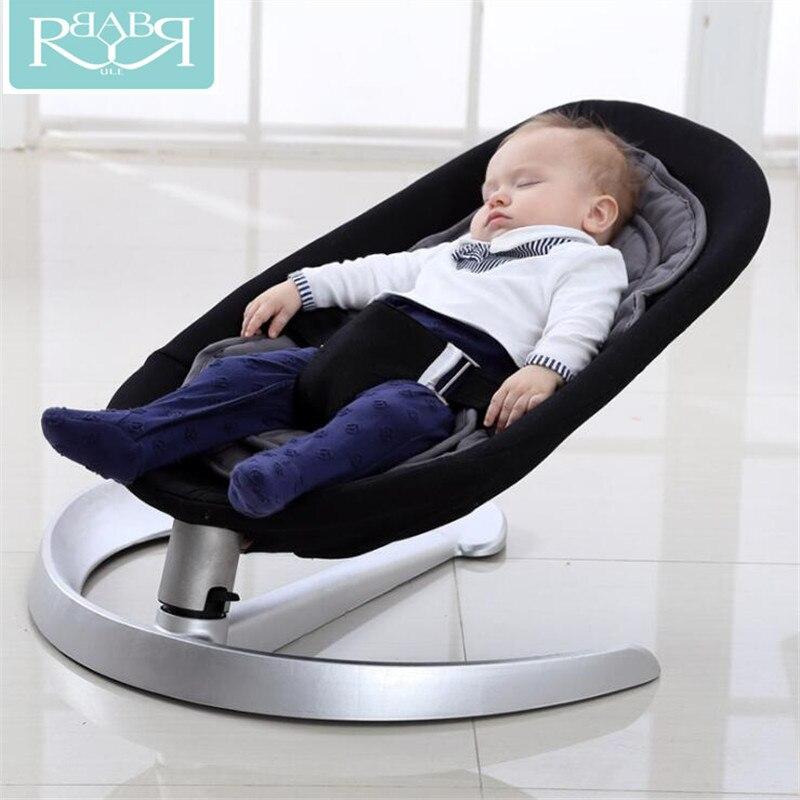 Chaise berçante bébé balancelle bébé pour bébé Bebek Salincak nouveau-né panier de couchage berceau automatique bebek salincak
