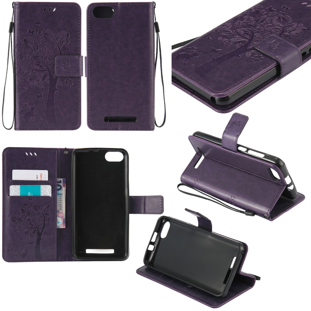 Fundas Flip Case for wiko lenny 3 PU Leather + Silicon Wallet Cover Phone Case for wiko lenny3 5.0 Capa with Stand Card Hold