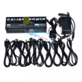 Caline CP-05 Effect Pedal Power Supply High Frequency 10 Outputs (9V, 12V, 18V) Voltage Protection Guitar Pedal Power