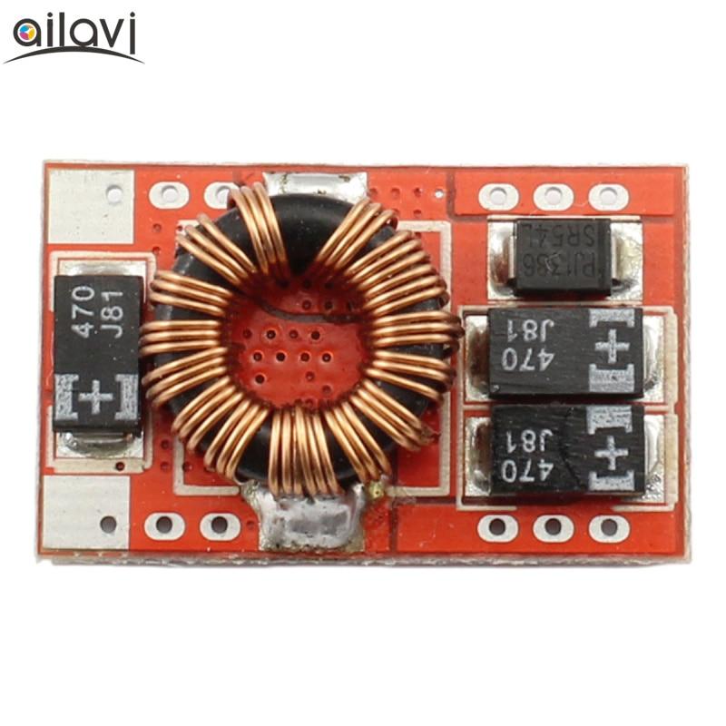 Mini DC-DC Boost Converter 3V-5V 3.7V to 5V 3A 15W Step-up Power Supply Module wholesale 1pcs dc dc step up converter boost 2a power supply module in 2v 24v to out 5v 28v adjustable regulator board dropship