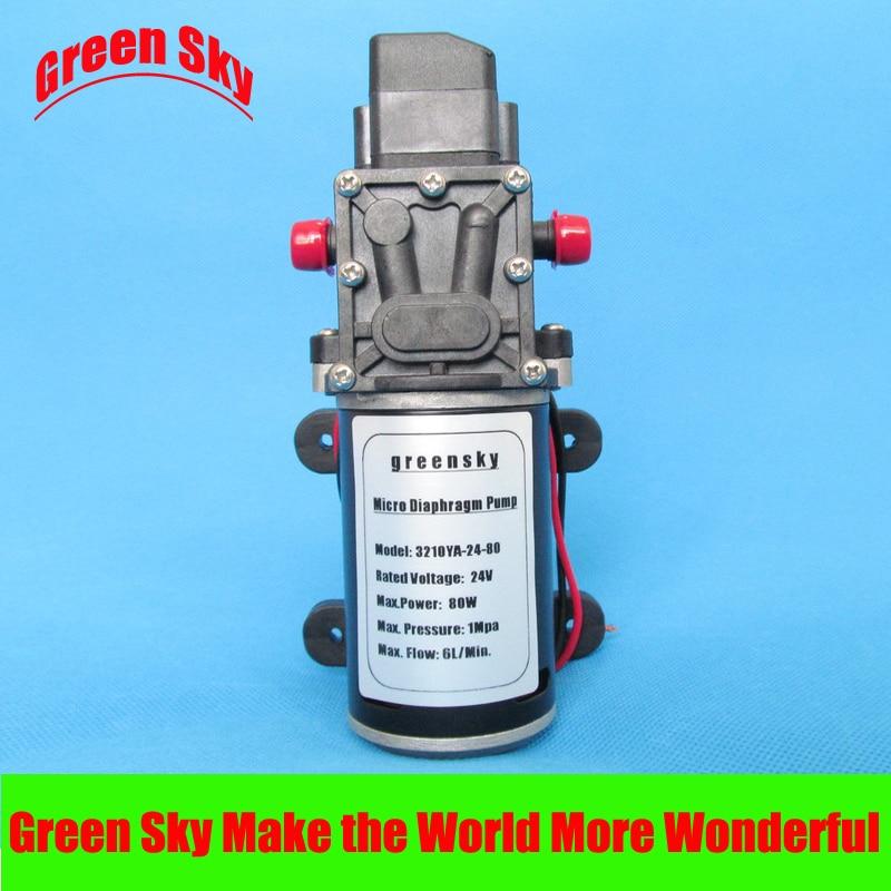 8L/Min. 10m Range 24VDC 80W High Pressure pump water sprayer,medical,chemical equipment,lawn and garden