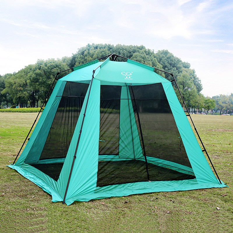 Hot Sale Outdoor Super Large Camping Tent 5 8 Person Four ...