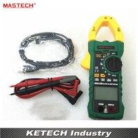 True RMS Цифровые токоизмерительные клещи DC/AC Напряжение Ток Ом измеритель емкости и частоты с приобретением данных USB MASTECH MS2115B