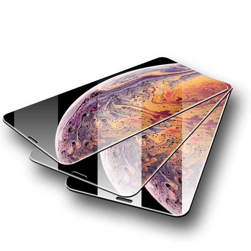 3 Pcs Schutz Glas Auf Die Für Iphone 7 6 Screen Protector 9 H 2,5 5 5 S Se Gehärtetem Glas Für Iphone X Xs Max Xr 7 8 Plus 6 6 S SorgfäLtige FäRbeprozesse Handys & Telekommunikation