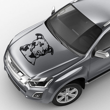 free shipping 1PC pit bull graphic vinyl car stickers for SUV PICKUP door rear window roof bonnet free shipping 1pc rivet spiked studded american staffordshire terrier graphic vinyl car stickers for suv pickup door rear window