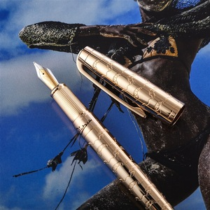 Image 2 - ピカソ 918 Pimio 夢のようなポルカ専用メタル万年筆イリジウムファインペン先インクペンギフトボックス、オプションビジネスオフィスのギフト