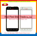 "High Quality 4.0"" For LG Optimus P970 Touch Screen Digitizer Sensor Glass Lens Panel Black Or White +Tracking Number"
