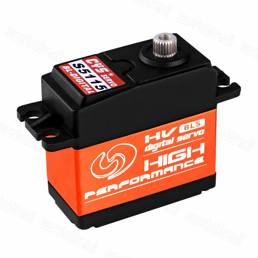 CYS-BLS5115 64g 15Kg.cm Full Metal Brushless Servo For RC Cars Boat Plane jx pdi 5521mg 20kg high torque metal gear digital servo for rc model
