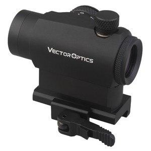 Image 4 - Vector optical Maverick 1x22 cadre de visée tactique Compact à points rouges, à libération rapide, monture QD pour vrais fusils, pistolets, Airsoft