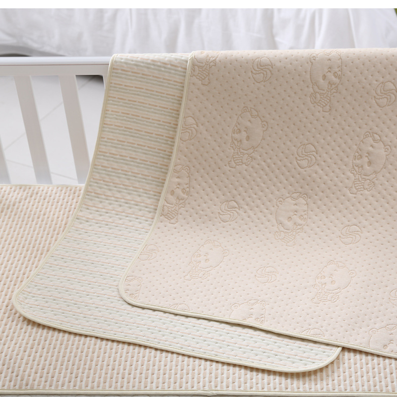 Strong Absorbent&Breathable Changing pads Reusable nappies Waterproof Mattress pad Diaper baby Urine pad washable changing mat infant waterproof diaper washable baby mattress urine mat color cotton baby changing pad baby tpu waterproof sheet mattress