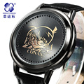 Detective Conan watch Xingyunshi Sport Watches Men Luxury Brand Leather Army Clock Male Digital Wristwatches Relogio Masculino