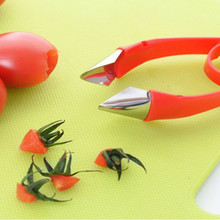 1 шт. кухонные принадлежности томатные Стебли фрукты клубничный нож для удаления стволов клубника слайсер инструмент для удаления чашелистиков с клубники ок 0481