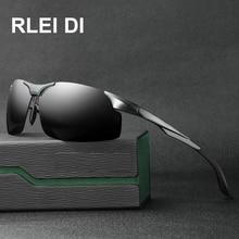 1da741c975e7a6 2018 Hommes Aluminium Et De Magnésium Cadre lunettes de Soleil Polarisées  Sports De Plein Air Conduite Marque Designer Lunettes .
