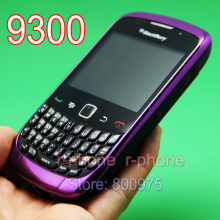Original BlackBerry 9300 Curve Mobile Phone Blackberry OS 9300 Smartphone Unlocked 3G Wifi Refurbished Cellphones