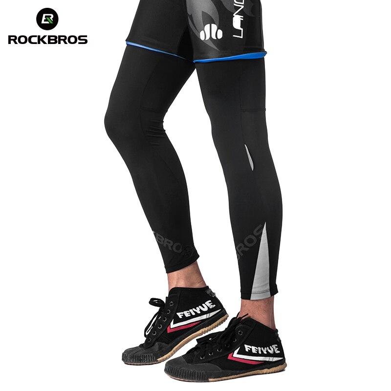 ROCKBROS Anti UV400 Cycling Leggings Ice Silk Sunscreen Leg