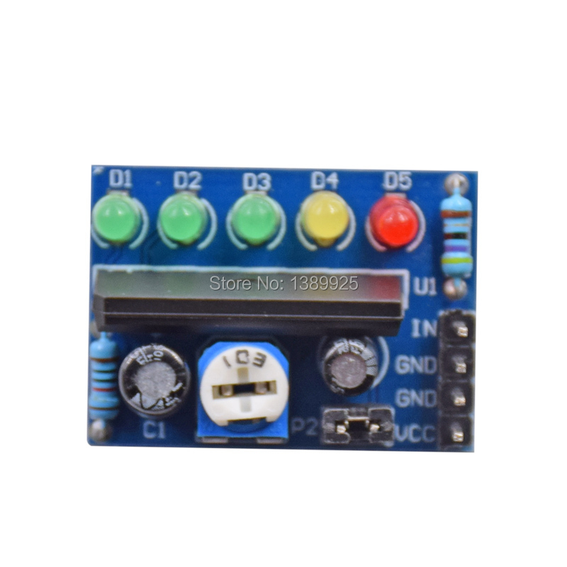 KA2284 Power level indicator Battery Indicator Pro Audio level indicator module