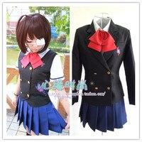Another Misaki Mei Akazawa Izumi Anime Cosplay Costume Japanese School Uniform Customized Size Free Shipping