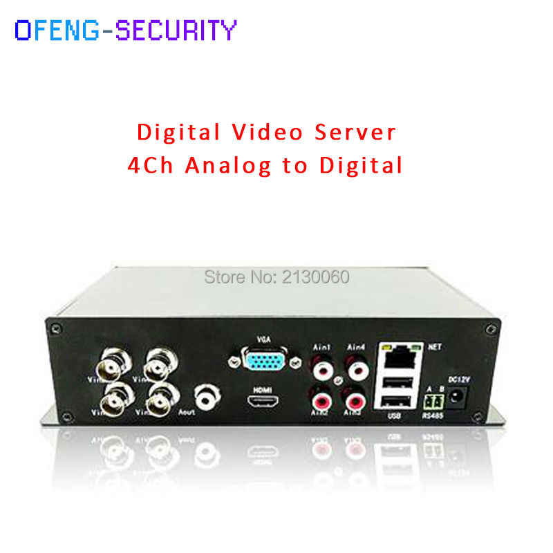 1 cái DVS Mạng Video Encoder với sản lượng vedio 1 CVBS + 1 HDMI + 1VGA