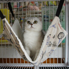 Hammock Cushion Cage Bed-Cover Hanging Cat Animal Kitten Warm Small Soft Winter Pet Cat-Toys