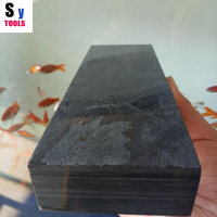 3000 Grit guangxi natural bluestone Water mud stone Kitchen knife Homeuse grindstone 8 200*50*25mm