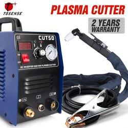 Envío Gratis nueva máquina cortadora de Plasma CUT50 220V voltaje 50A cortador de Plasma con accesorios de Soldadura Libre PT31