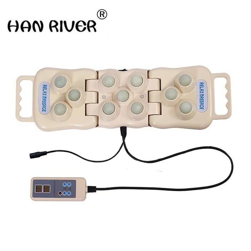 HANRIVER The new 2018 comfortable jade massage cushion WenYu physiotherapy with jade physiotherapy knee body massager hanriver massager cushion for shakti
