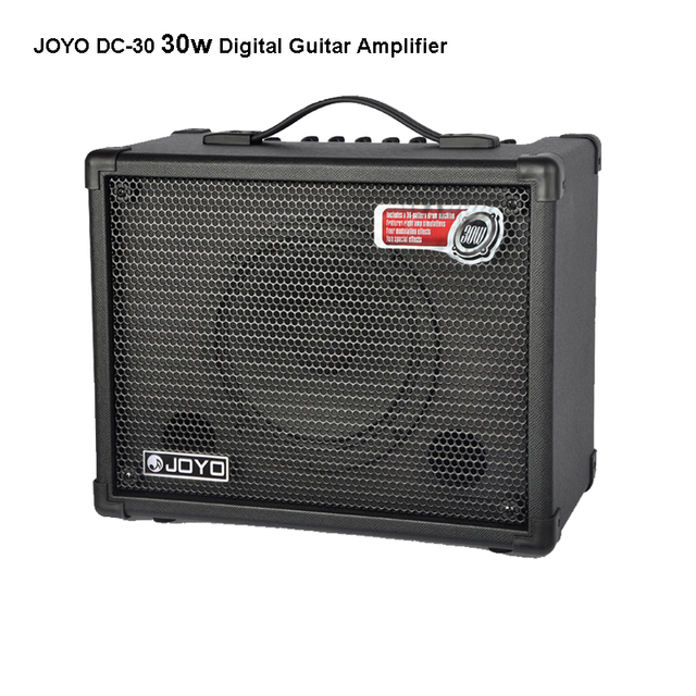 Cheap JOYO DC-30 30w Digital Guitar Amplifier Features eight amp simulations Four modulation effects Two spacial effects dely reverb