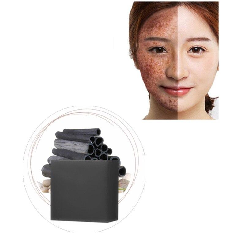 Korean Handmade Soap Secret Skin Care Face Lift Medicine Anti-Aging Whitening Wrinkle Removal Bamboo Charcoal Bathing Soap 1Pcs