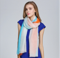 2017 New Fashion Brand 100 Cashmere Scarf For Women Large Long Wool Shawl Patchwork Wraps Warm