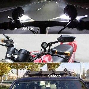 Image 5 - سافيجو 10 واط LED ضوء العمل 12 فولت led جرار أضواء العمل الطرق الوعرة القيادة 4X4 ATV سيارة دراجة نارية led أضواء لشاحنة مستديرة