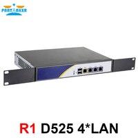 Partaker R1 Firewall VPN Network Security Appliance Intel D525 Dual Core 4 Intel Gigabit LAN Router PC 2GB Ram 32GB SSD