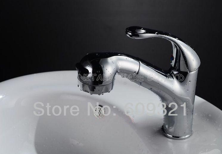 Superfaucet Pull Out Bath Faucet Shower torneira do banheiro basin faucet water mixer bathroom tap HG-1214DA