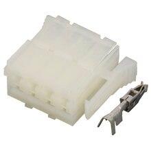 8 контактная оболочка 927365 1 автомобильные разъемы белые прямоугольные