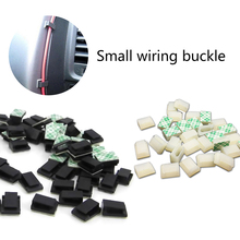 60pcs car plastic clips Driving recorder fixed wire clamp / cable dashboard wiring finishing for cars
