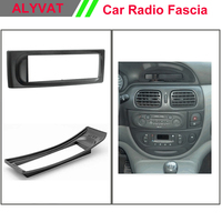 Car Radio Frame Installation Surround Facia Trim CD Dash Kit For RENAULT Megane I 1996 2002