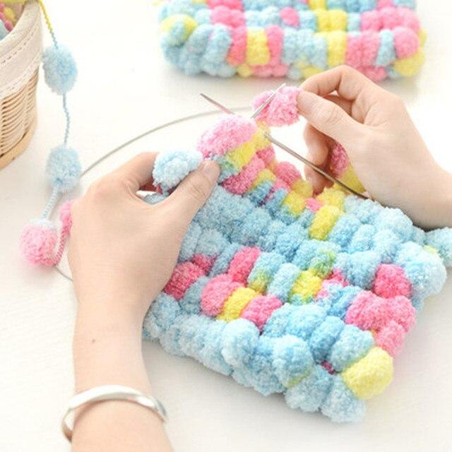 150 g/pcs Natural DIY bufanda de algodón suave hilo grueso Para ...
