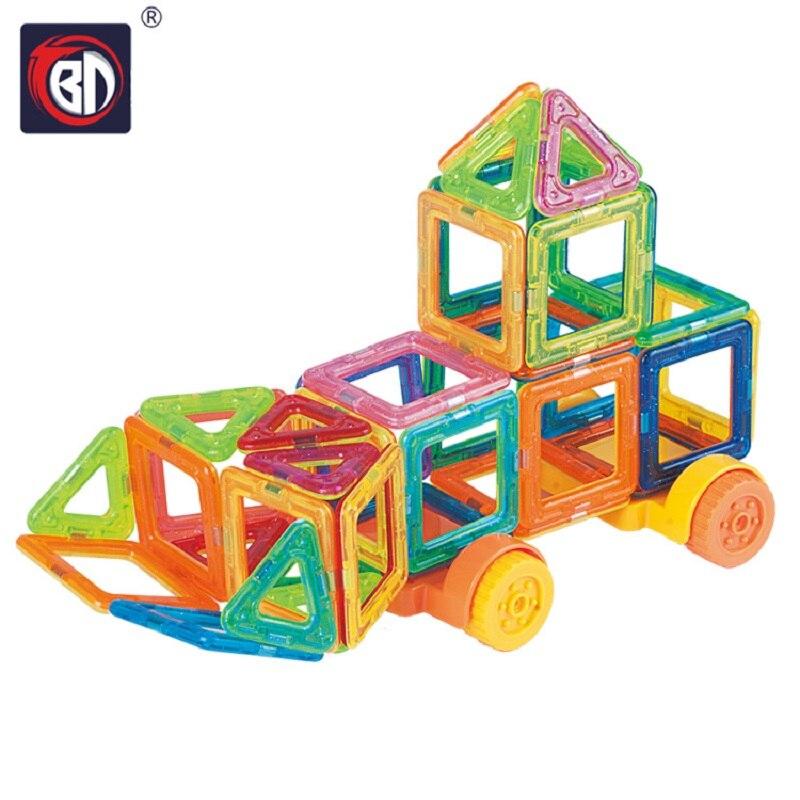 BD Blocks 32pcs Mini Magnetic Building Block Set Model & Building Toy Plastic Educational Toys For Kids Gift