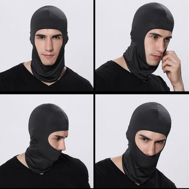 Motorcycle Face Mask Cycling Ski Neck Balaclava Full Face Hat Mask Cover Winter Warm Outdoor Windproof Breathable Mask 4