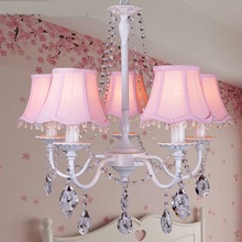 Buy baby chandelier and get free shipping on aliexpress modern nordic 358 heads pendant light crystal childrens room girls baby aloadofball Images