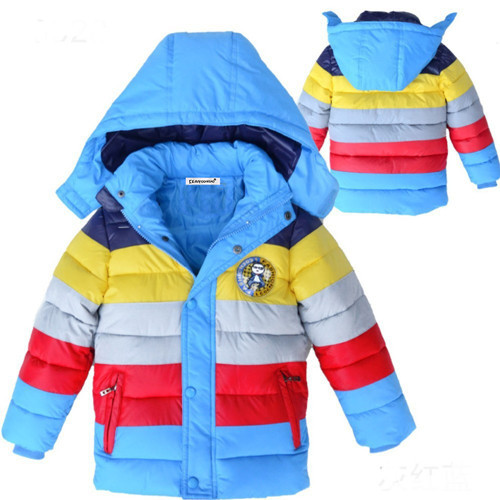 Stylish Hooded Winter Jackets for Boys