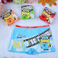 2016 New Arrivals1 Pieces Cartoon Print Boys Boxer Underwear Children panties Soft Touch Kids Knickers Cotton Boys Briefs