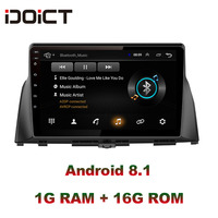 IDOICT Android 8.1 Car DVD Player GPS Navigation Multimedia For KIA optima K5 radio 2016 2017 car stereo bluetooth
